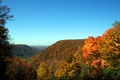 Babcock State Park Fall Mountain View