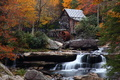 Fall Foliage Mill Waterfalls